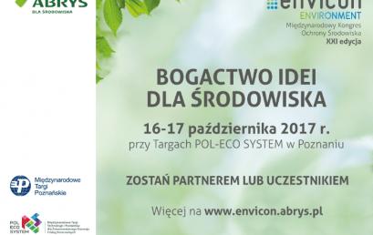 ENVICON Environment – Bogactwo idei dla środowiska
